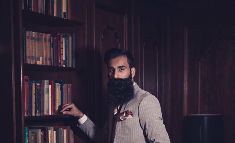Portrettfoto av en forretningsmann