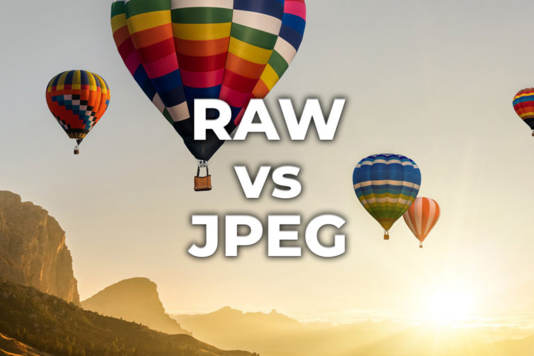 RAW vs JPEG - Hvilket format og hvorfor?
